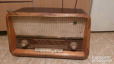 Sport i hobi - Zrenjanin: Jadran 59C iz 1959 ispravan!kad se ukljuci u struju vidi se da gori i