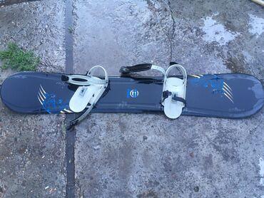 Сноуборды в Кыргызстан: Продаю сноуборд состояние Б/у В комплекте только сноуборд и крепление