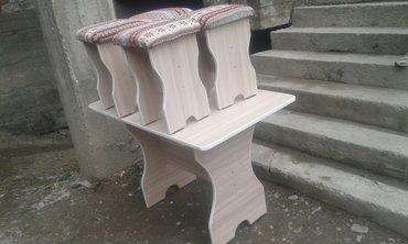 Стол табуретка в Лебединовка