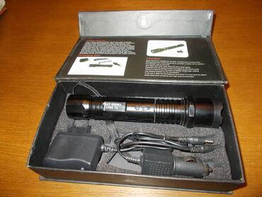 Stona lampa - Srbija: ELEKTROŠOKER Jaka baterijska lampa koja može poslužiti i za samoodbran