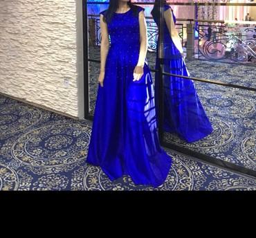 синее платье большого размера в Кыргызстан: Платье Вечернее Ççs M