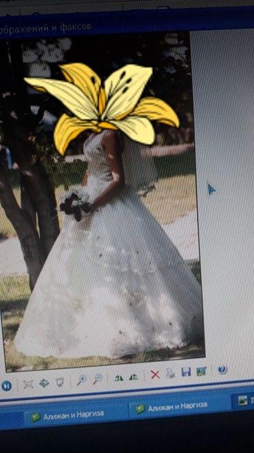 Свадебные платья - Токмак: Продаю срочно свое свадебное платье за 6 тыс. состояние нового