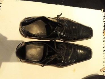 Kozne muske cipele 41 br - Crvenka