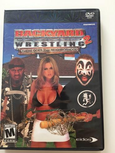 PS2 & PS1 (Sony PlayStation 2 & 1) Azərbaycanda: PS 2 ucun oyun Backyard Wrestling 2
