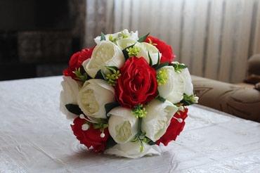 Свадебные аксессуары - Кыргызстан: Предлагаем свадебные букеты ручной работы, есть в наличии и на заказ