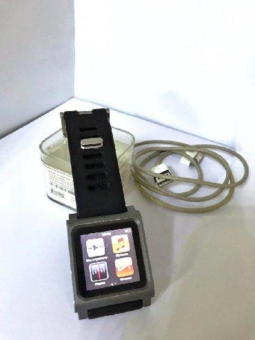 mp3 samsung yp u7 в Кыргызстан: Продаю Ipod nano 6 silver 16g с ремешком lunatic tic toc Состояние хор