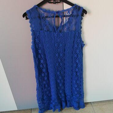Prodajem čipkastu haljinu, ispod je pamučna i jako prijatna postava