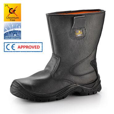 Сапоги рабочие защитные Safetoe H-9001Материал подошвыPU/PU двойной
