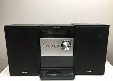 SONY HCD-eFX300iSony musiqi merkezi. Ela veziyyetde shekildeki kimi