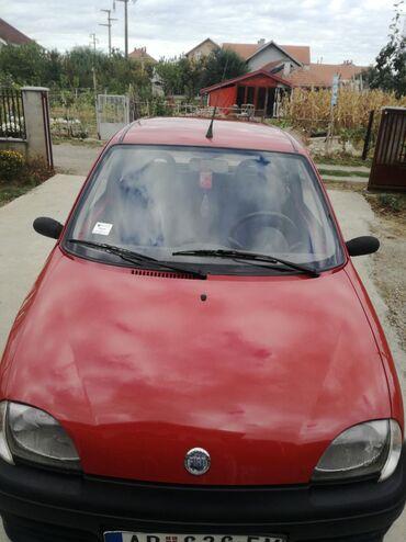 Manual - Srbija: Fiat Cinquecento 1.1 l. 2002 | 105000 km