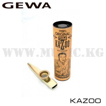 Казу Gewa Казу представляет собой небольшой металлический или