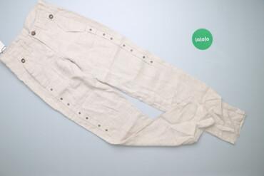 Жіночі лляні штани D&G Ittierre, p. XS    Довжина: 109 см Довжина