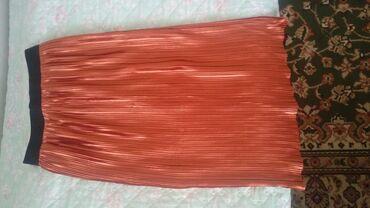Красивая юбка плисе ниже колена размер 36-38, привезли из Германии