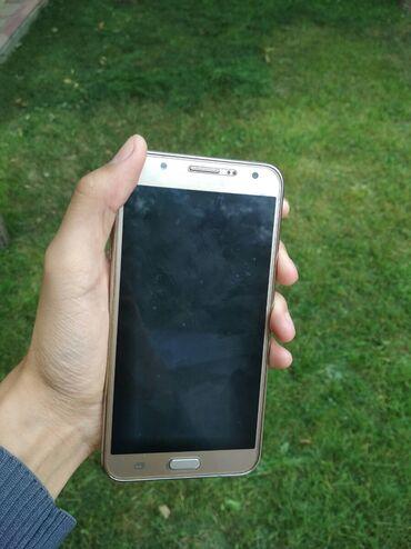 Samsung-galaxy-note4 - Кыргызстан: Б/у Samsung Galaxy J7 16 ГБ Золотой