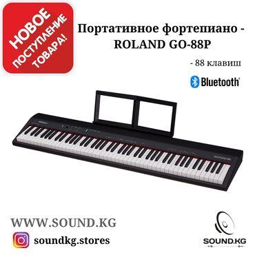 Пианино цифровое, Портативное 88-нотное фортепиано - ROLAND GO 88P - в
