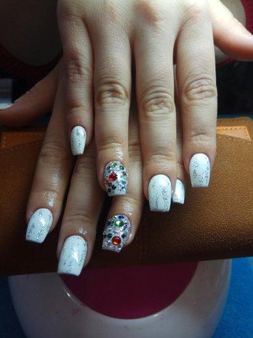 шеллак маникюр наращивание ногтей в Кыргызстан: Маникюр,педикюр,шеллак, наращивание ногтей ( Поли гель )(дизайн в