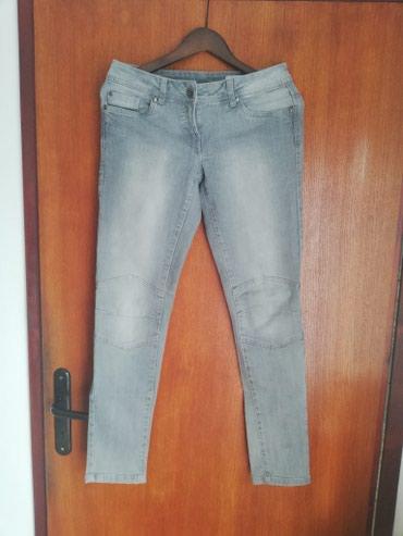 Velic da - Srbija: Prodajem sive farmerke Blue motion skinny pise da su 36 velicina, ali