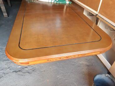 Продаю комплект стол стулья.Стули 12 штук.Стол длина 4,5м ширина