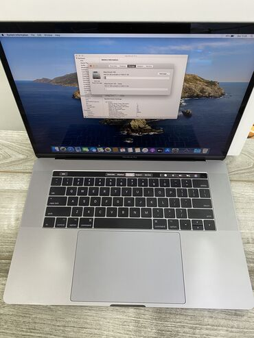 Apple - Кыргызстан: MacBook Pro 15.4/2016 space gray 2.7 ghz/ Radeon Pro 460. Количество ц