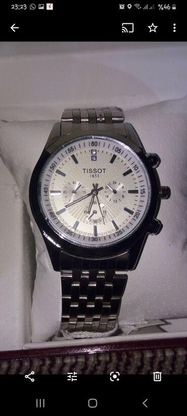 lipuçkalı kişi ayaqqabısı - Azərbaycan: Gümüşü Kişi Qol saatları Tissot