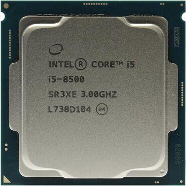 Продаю процессор core i5 8500 характеристика на фотке