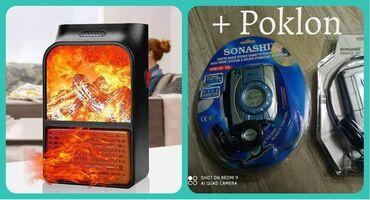 Mini ručna grejalica sa efektom plamena+ Poklon VokmenSamo 2000