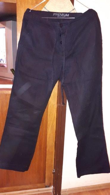 POVOLJNO Muske crne platnene pantalone 100%pamuk, PREMIUM, JACK AND - Belgrade