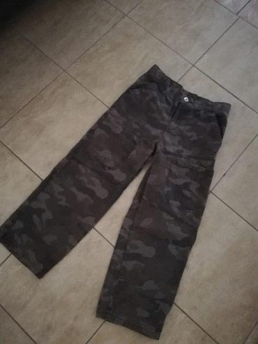 Maskirne-pantalone - Srbija: Maskirne pantalone za decakePoluobim struka 32cm, duzina 78cm. Saljem