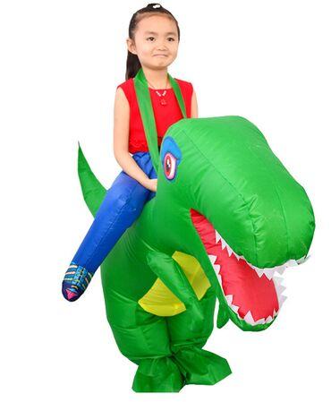 """Детский надувной костюм Динозаврик """"Дино"""" Рост 100-130 см  Возраст 5-8"""