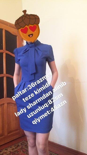 Bakı şəhərində Qisa paltar lady sharm. Real alicilar narahat etsinler. Bow bow yazanl