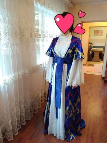 Шикарное платье сшитый на Кыз УзатууСшит на заказКачество