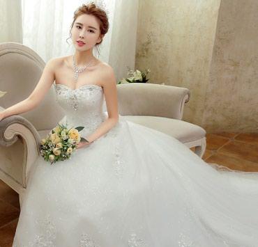 Свадебное платье на продажу НОВОЕ в Бишкек