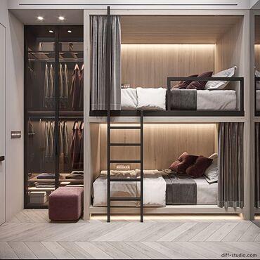 Посуточная аренда квартир - Бишкек: 5 комнат, Душевая кабина, Постельное белье, Парковка, Без животных