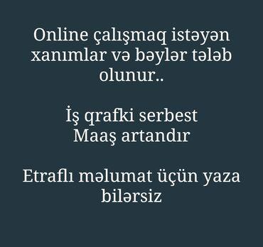turkan - Azərbaycan: Satış üzrə menecerlər. Təcrübəsiz. Natamam iş günü. 8-ci kilometr r-nu