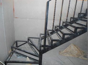 Работа и Установка лестницы,перила, отопления,навесы,скамейки в Бишкек