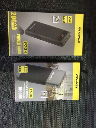 аккумуляторы для ибп prologix в Кыргызстан: Power bank awei
