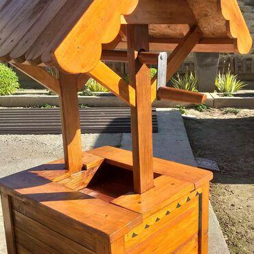 Kuća i bašta | Backa Palanka: Ukrasni bunar visine 1.45 širine 55×60cm letvice su prvo lepljene