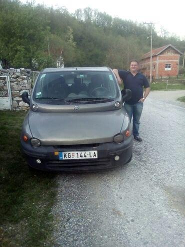 Plinska boca - Srbija: Fiat Multipla 1.6 l. 2002