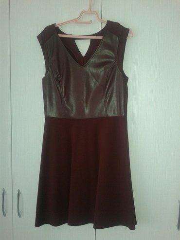 Bordo haljina,vel. 42, ima rajsferslus sa strane. Odlicno stoji i u - Valjevo