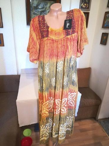 Nova zenska indijska haljina za punije Nini. Indijska. Odlicna