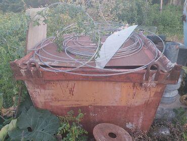 Продам железную тару, (емкость для хранения зерна и т.д.) Вместимость