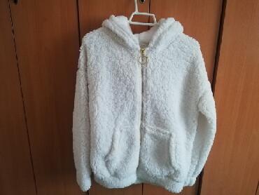 Preslatka cupava jakna za vece devojcice. Za jesen - prolece. Potpuno