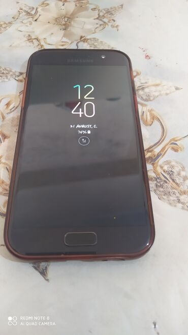 Samsung б у - Азербайджан: Б/у Samsung Galaxy A5 2017 32 ГБ Черный