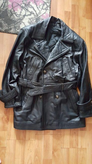 Kozna jakna vel.L ima sitnih ostecenja ispod kaisa na rukavima koja se - Leskovac