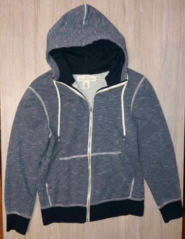 мужские вещи в Кыргызстан: Продаю синюю толстовку на молнии H&M размер мужской XS. (42-44)