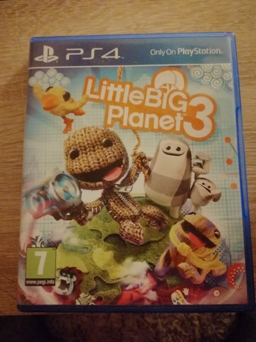 Little big planet 3 ps4 1200din - Belgrade