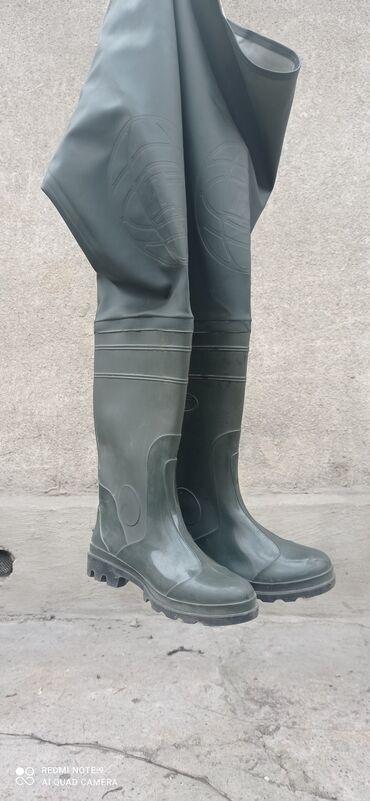 чёрные зауженные джинсы мужские в Кыргызстан: Сапоги болотные. 43 размер. Россия