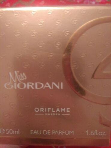 6199 elan | GÖZƏLLIK VƏ SAĞLAMLIQ: Miss Giordani ətri satıram orginaldi firma ətridi cox super bir ətirdi