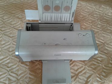 продам-принтер-бу в Кыргызстан: Продам цветной принтер Canon не рабочий. (г. Каракол)