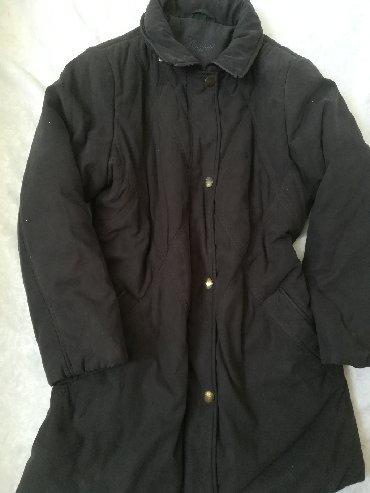 Ženska odeća | Vranje: Štepovana jakna crne boje CHARLES VOGELE, vel 42, nošena ali izuzetno